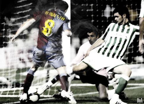 Iniesta thru space and time by DoAtech