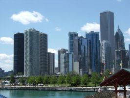 Chicago Skyline Stock 1 by WindyCityStock