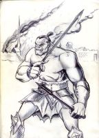 Orc badness by seanwthornton