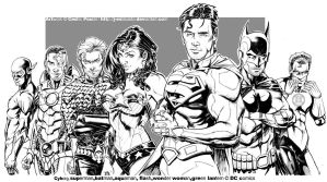 JUSTICE LEAGUE by J-Estacado
