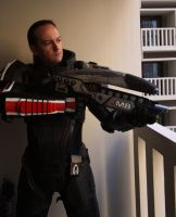 Male Shepard N7 Armor by ParadoxJaneDesigns
