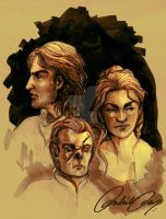The Lannisters by duhi