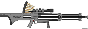 Anti-materiel rifle by Robbe25