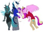 Collection - Chrysalis and the Crystal Royals by Sipioc