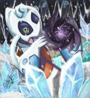 Snowy Shadow ball by badershirawi