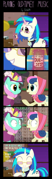 Playing Old-Timey Music [Comic] by Sutekh94