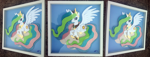 Commission:  Princess Celestia TAKE 3 by The-Paper-Pony