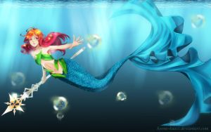 .:Mermaid Sirene:. by Kyone-Kuaci
