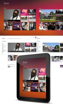 Music Store Concept by MetroUI
