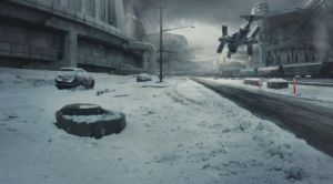 Matte Painting shot break down video by everlite