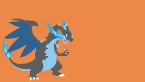 #006 Mega Charizard X by bloodruns4ever
