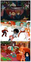 Collab : Christmas Postcards by Yivae