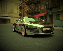 Audi R8 by sabrefresco