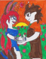 Ralph And Flora by nyro1