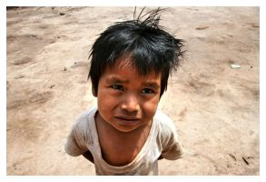 Wichi Indian Kid - Chaco - AR by positivelight