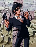 Wolfwood the Black Priest by kheelan
