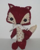 Starry Woodland Fox Plushie by kiddomerriweather