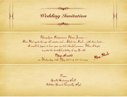 Special Wedding Card by mskumar