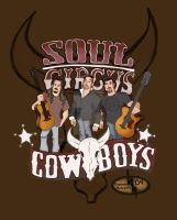 Soul Circus Cowboys Promo Art by thomsolo