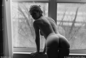 Tereza Nude Before Traffic by M7editor