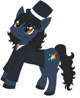 Me as a MLP, a gift. by Felzm