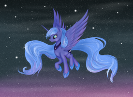 Princess Luna by AliceKvartersson