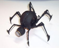 Clockwork Spider-Bomb by cazouillette