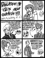 12th Doctor's outfit (sucks) comic by GingerBaribuu