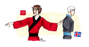 APH Iceland and HongKong by AnnHolland