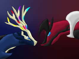 Pokemon X and Y by Chaos-Illusions