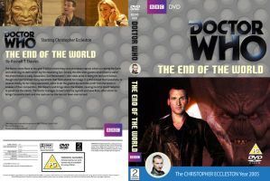 Doctor Who The End of the World Classic Cover by HaddonArt