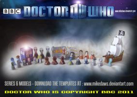 Doctor Who - Series 6 Models by mikedaws