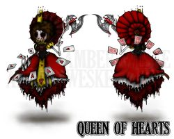 Queen of Hearts - My Nightmare by Nortiker