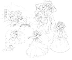 Random Doodles Again by Candy-Janney
