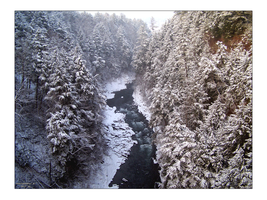 Quechee Gorge by Echo-Velocity