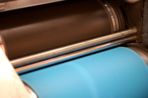 Printing Press Rollers 2 by reznor70-stock