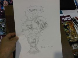 COMICON sketch surprise by RyanOttley