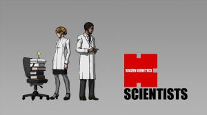 Character - Scientists by longgi