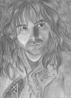 Aiden Turner as Kili by BethannNg
