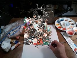 they come alive at midnight! by duss005