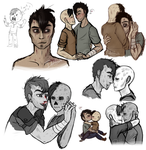 2016 Art Dump - Isaiah and Dennis by Ricarderp