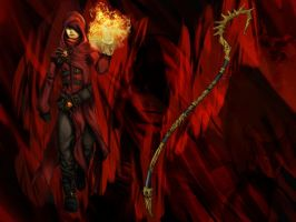 Fire Mage by Horologe