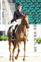 Allison Springer Dressage III by zeeplease