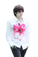 Png render Heechul (2) by Crazzy by CrazzyJoyer