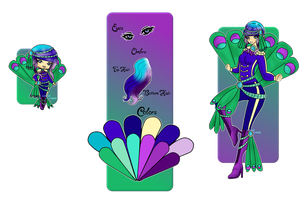 Blueberry Peacock | Reduced | Open by MerbusAdopts