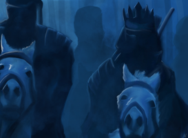 Midnight Cavalry by SnToter