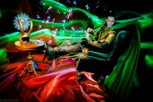 Mimicking Hiddleston's Chair Pose by EmbryonicPith