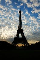 Eiffel Tower, 2 by artspring