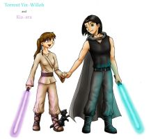 The Force Brings Two Together by SabrinaJenema