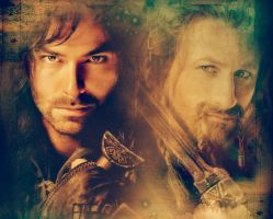 Kili and Fili by Symbelmine21